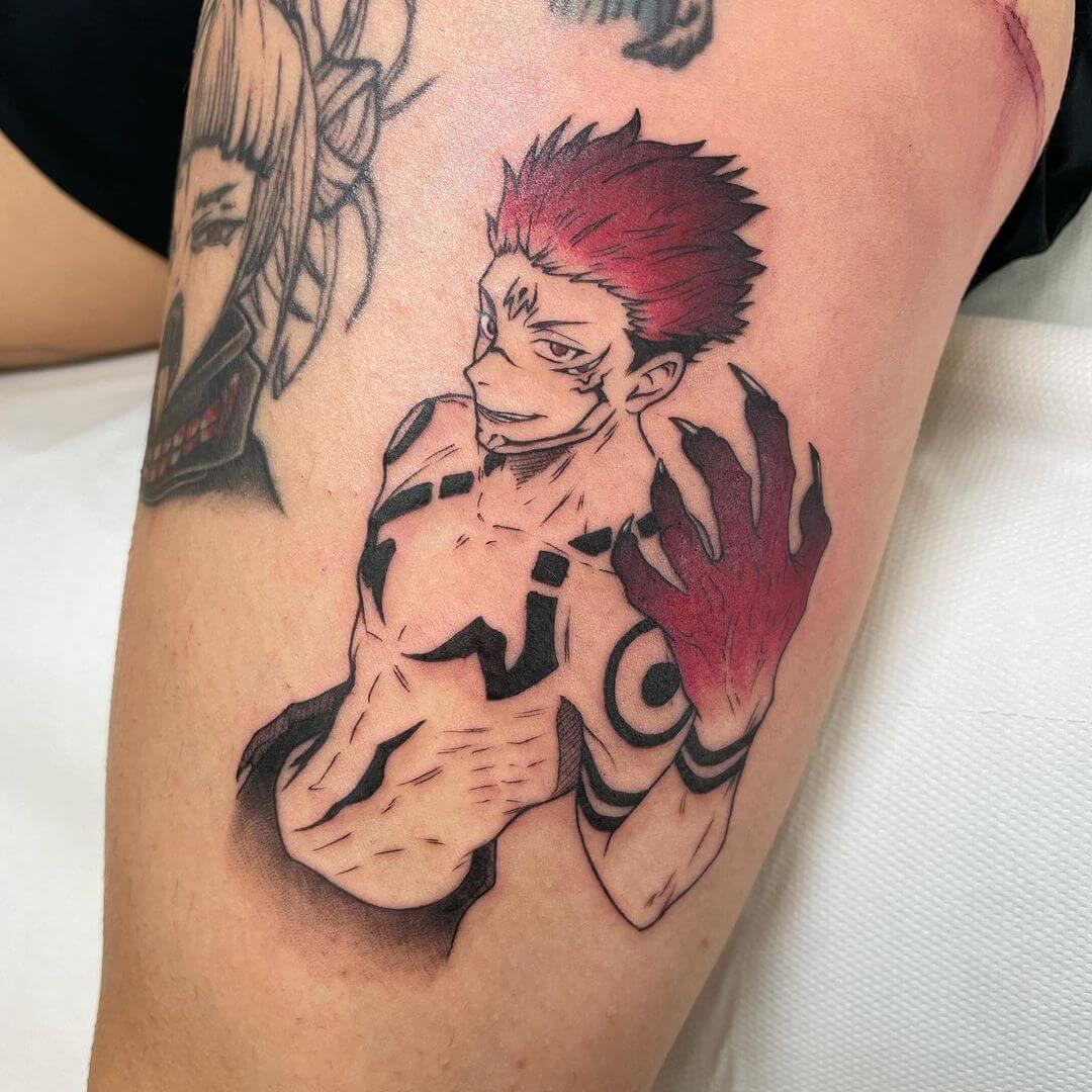 jujutsu kaisen tattoo