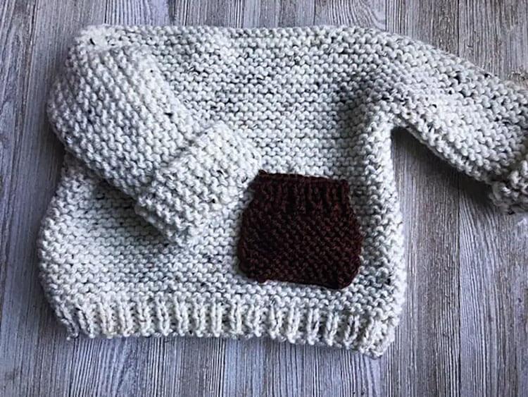 Liam Baby Sweater