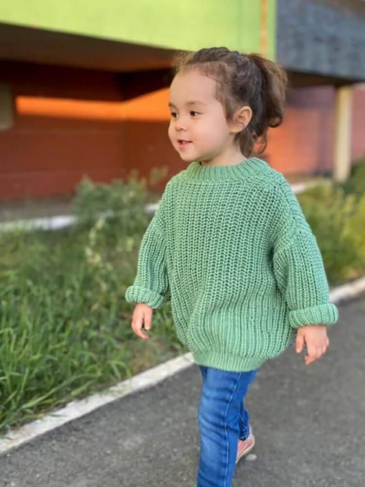 Cozy Jumper Knitting Pattern